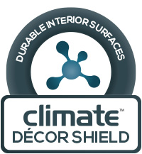 Climate Durashield - durable interior surfaces