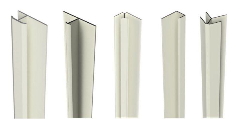 Aluminium trim range in matching powder coat or anodised finish